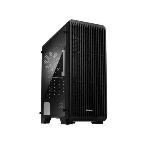 Фото - Корпус ATX Zalman S2 черный, без БП, с окном, 2xUSB 2.0, USB 3.0, Audio корпус zalman s2 tempered glass window black