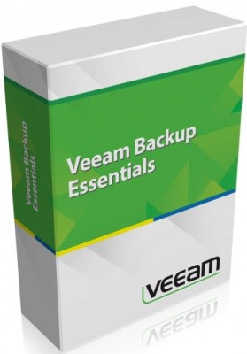 Подписка (электронно) Veeam 1st Year Payment for Backup Essentials UL Incl. Ent. Plus 3 Years Subs. Annual Billing am.