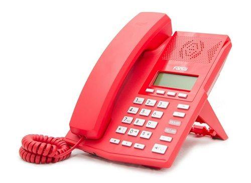 Телефон VoiceIP Fanvil X3P red.