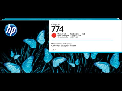 Печатающая головка HP 774 P2W02A хроматический красный, для HP DesignJet Z6810 series, 300-мл