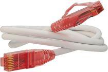 Hyperline PC-LPM-UTP-RJ45-RJ45-C5e-1M-LSZH-WH