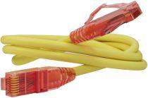 Hyperline PC-LPM-UTP-RJ45-RJ45-C5e-0.5M-LSZH-YL