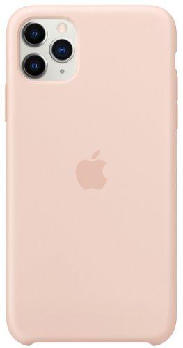 Фото - Чехол Apple MWYY2ZM/A для iPhone 11 Pro Max, silicone, pink sand чехол для apple iphone 11 pro max silicone case midnight blue mwyw2zm a