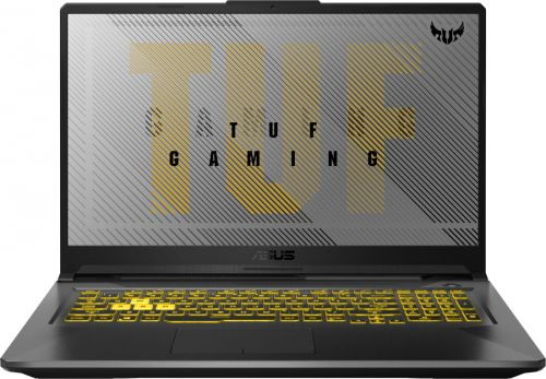 """Ноутбук ASUS TUF Gaming A17 FX706IU-H7119 90NR03K1-M03600 Ryzen 7 4800H/16GB/SSD 512GB/GTX 1660Ti 6GB/17.3""""/IPS/FHD/WiFi/BT/Cam/noOS/grey"""