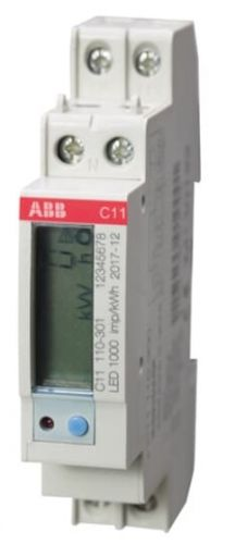 Счетчик ABB 2CMA103572R1000 1фаз,1тар,акт.эн,1кл, 5(40)А