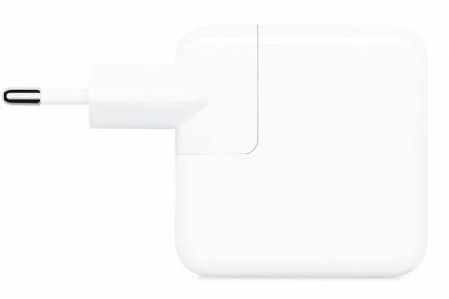 Фото - Адаптер Apple MY1W2ZM/A 30W USB-C сетевое зарядное устройство apple 30w usb c power adapter my1w2zm a