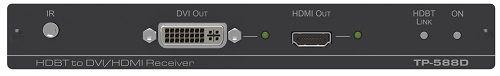 Приемник Kramer TP-588D DVI/HDMI, RS-232, ИК и аналогового и цифрового аудио по витой паре HDBaseT; поддержка 4К60 4:2:0, POE 50-80226090