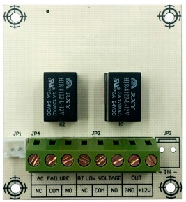Модуль расширения Smartec ST-PS100RB для блока питания на 2 тревожных релейных выхода