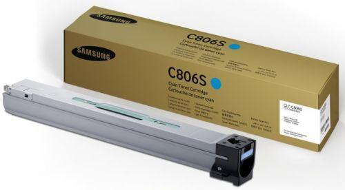 Картридж Samsung CLT-C806S SS554A для SL-X7400GX/SL-X7500GX/SL-X7600GX, голубой, 30000 стр.