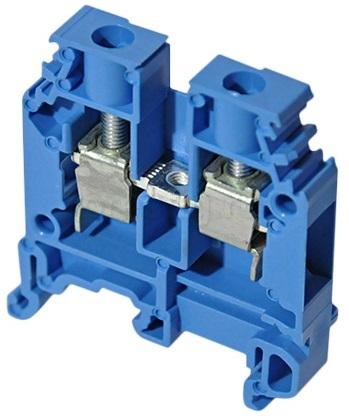 Клемма ABB 1SNA125116R0100 винтовая M4/6N 4 мм.кв синяя (5116R0100)