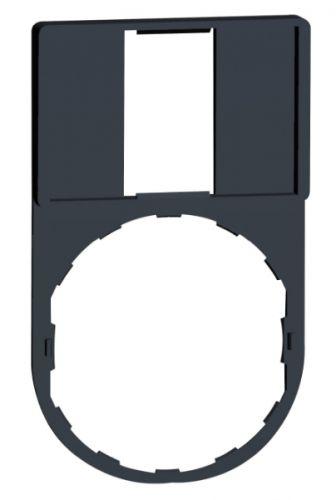 Держатель Schneider Electric ZBZ33 шильдика для кнопок и ламп на дверь 30х50 мм, под шильдик 18х27 мм