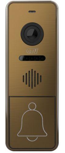 Вызывная панель CTV CTV-D4005 для видеодомофона, ИК-фильтр для ночного режима, подсветка кнопки вызова, блок управления замком (БУЗ) и монт. уголок