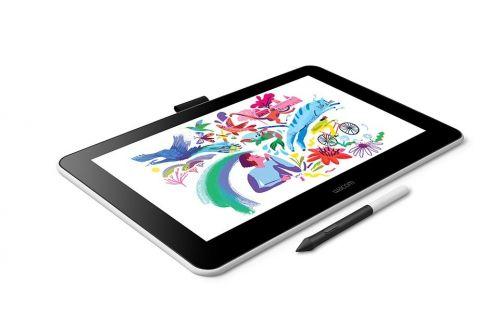 Графический планшет Wacom One 13 DTC133W0B LED, USB Type-C, белый