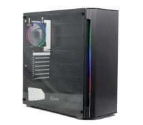 Powercase Attica Aluminium A4 ARGB TG