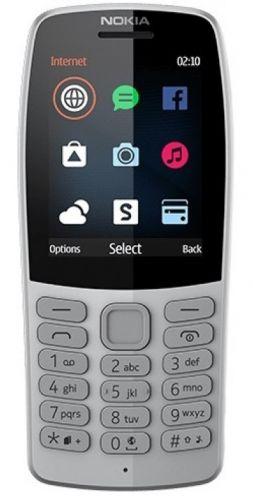 Мобильный телефон Nokia 210 Dual Sim 16OTRD01A03 grey