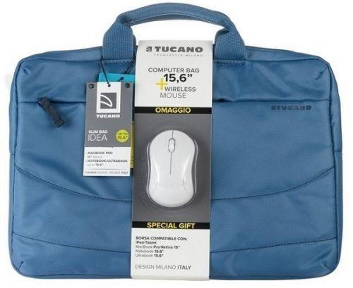Сумка для ноутбука Tucano Idea Bundle 15.6 light-blue