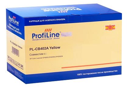 Картридж ProfiLine PL-CB402A для принтеров HP CLJ CP4005/CP4005DN/CP4005N Yellow 7500 копий ProfiLine