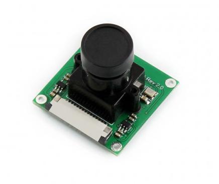Камера Waveshare RPi Camera [B] сенсор OV5647; 5 Мп; угол обзора 60,6 град.; регулируемый фокус, для Raspberry Pi