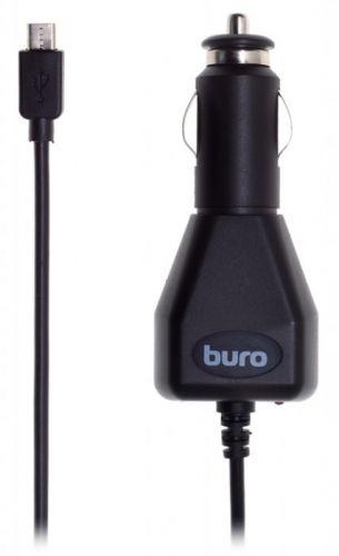Зарядное устройство автомобильное Buro XCJ-048-EM-2A 2A универсальное кабель microUSB черный