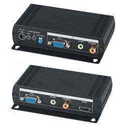 Преобразователь SC&T VH01 VGA-сигнала и аудиосигнала в HDMI-сигнал, преобразует VGA и стерео/цифровой (S/PDIF) аудиосигналы в формат HDMI, поддерживае
