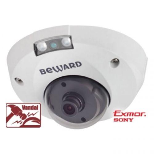Видеокамера IP Beward NK55630D6 Тип 4 ВН, 5 Мп, 1/2.9'' КМОП Sony Starvis, 0.006 лк (день)/0.003лк (ночь), 2xWDR до 120 дБ, 3 потока H.265/Н.264 HP/MP видеокамера ip beward sv3210dm 5 мп 1 2 9 кмоп sony starvis h 265 н 264 hp mp bp mjpeg 30к с 2560x1920 объектив 2 8 мм на выбор