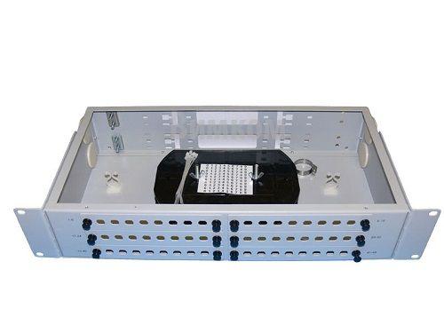 Кросс оптический стоечный Vimcom СКРУ-2U19-A48-FC/ST AD-FCD-SM+PT-SM-FC-1 2U 19