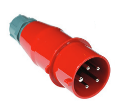 Lanmaster LAN-IEC-309-32A3P/M