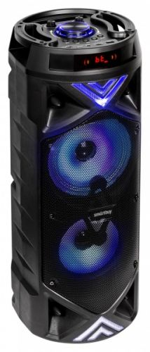 Портативная акустика 2.0 SmartBuy BOOM MK III SBS-1001 30Вт, Bluetooth, Bass Boost, MP3, FM, черная