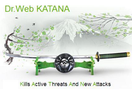 Dr.Web Katana - продление 12 мес, 4 ПК