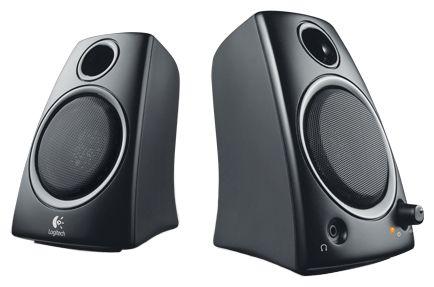 Компьютерная акустика 2.0 Logitech Z130 980-000418 5 Вт, черные