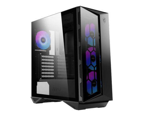 Фото - Корпус ATX MSI MPG GUNGNIR 110R mid-tower, tempered glass, 4x120mm ARGB fans inc компьютерный корпус msi mpg gungnir 110m