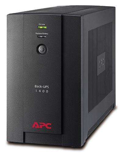 Источник бесперебойного питания APC BX1400U-GR Back-UPS 1400VA, 230V, AVR, Schuko Sockets