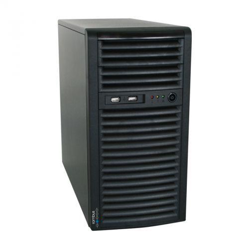 "Supermicro Корпус серверный Supermicro CSE-731i-300B (4x3.5"" int, 2x5.25"",1x3.5"" ext. bays, 9.6""x9.6"" micro-ATX, 4xI/O exp. slots, 300W HiEff, Mid-Tower)"