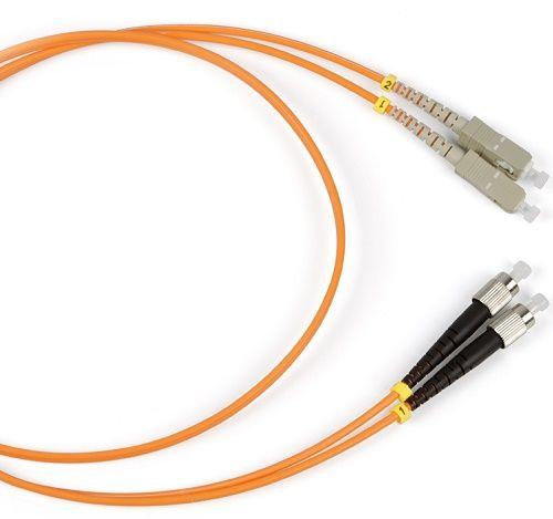 Кабель патч-корд волоконно-оптический Hyperline FC-50-SC-FC-PC-1M FC-D2-50-FC/PR-SC/PR-H-1M-LSZH-OR LSZH, 1 м патч корд hyperline fc d2 50 lc pr sc pr h 1m lszh 1 м оранжевый