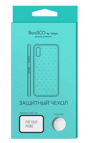 Фото - Чехол силиконовый BoraSco 38795 для Samsung (A415) Galaxy A41 (матовый) черный чехол activ для samsung sm a415 galaxy a41 full originaldesign black 119398