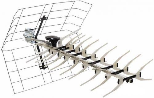 Антенна Rexant 34-0413 ТВ наружная АКТИВНАЯ для аналогового и цифрового ТВ - DVB-T2 (модель RX-413) (коробка)