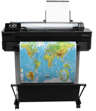 Hewlett-Packard Принтер HP Designjet T520 (CQ890C)
