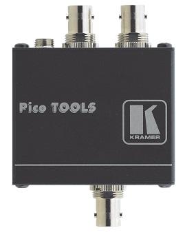 Усилитель-распределитель Kramer VM-2UX 10-80440090 1:2 HD-SDI 12G, поддержка 4K60 4:2:2 30 бит/пиксель