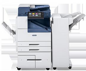 МФУ монохромное Xerox AltaLink B8090 4700 л, обходной лоток/с высокопроизводительным финишером/лоток со сдвигом на 3000 л/сшивание100л/верхний лоток н