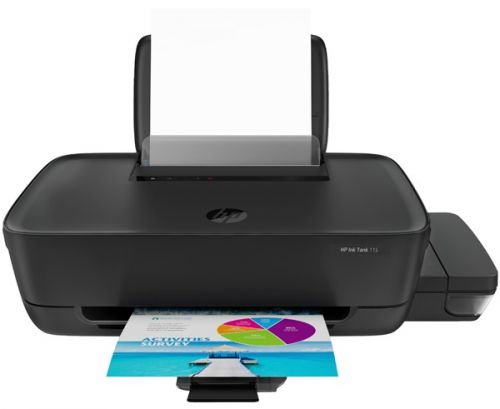 Принтер HP Ink Tank 115 2LB19A A4, 1200dpi, CISS, 8 (5)ppm, 1tray 60, USB2.0, cartr. B 8K/6K CMY in box