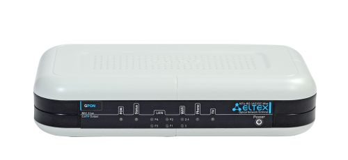 Терминал ELTEX NTU-RG-1421GC-Wac ONT, 1 порт PON(SC), 4 порта LAN 10/100/1000 Base-T,2xUSB/1xFXS, WiFi(802.11ac,3*3 1300 Мбит/c, 5 GHz+802.11n, 2*2, 3 базовая станция eltex wop 2ac lr5 802 11 ac 5g wifi 5ghz mimo 2х2 1 порт 10 100 1000 base t 1 разьем под sfp модуль 2 разьема sma для подключен