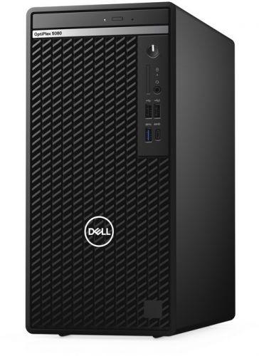 Фото - Компьютер Dell Optiplex 5080 MT i7-10700/8GB/256GB SSD/Intel UHD 630/Linux компьютер dell precision 3440 sff i7 10700 16gb 512gb ssd intel uhd 630 sd tpm dp win10pro