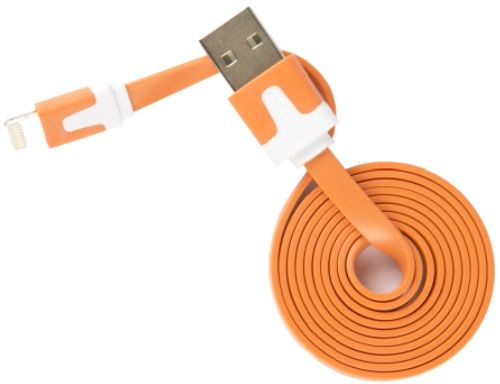 Кабель интерфейсный Red Line USB-Lightning УТ000010104 для Apple, оранжевый кабель red line usb – apple lightning white