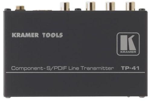 Передатчик Kramer TP-41 90-700290 компонентного сигнала видео и сигнала аудио по витой паре, 0.3кг
