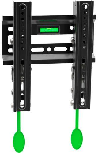 Фото - Кронштейн настенный ONKRON TM1 17-42 макс. 200*200, наклон 0+15º, поворот 0º, от стены 30мм, вес до 30кг, черный кронштейн настенный onkron ut4 40 85 наклон 0° 15° до 75кг черный