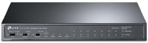 Фото - Коммутатор неуправляемый TP-LINK TL-SL1311MP 8x10/100 Мбит/с PoE+, 2x100/1000 RJ45, 1xGB SFP медиаконвертер tp link mc220l 1000mbit rj45 sfp minigbic ieee 802 3ab ieee 802 3z