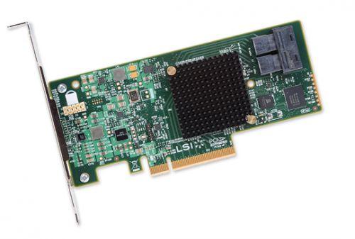 LSI - Контроллер SAS LSI 9300-8i SGL (LSI00344)