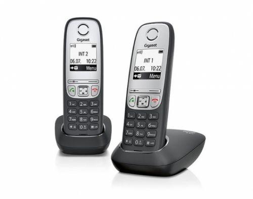 Фото - Телефон DECT Gigaset A415 DUO радиотелефон dect gigaset a415 белый