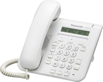 Проводной IP-телефон Panasonic KX-NT511ARUW