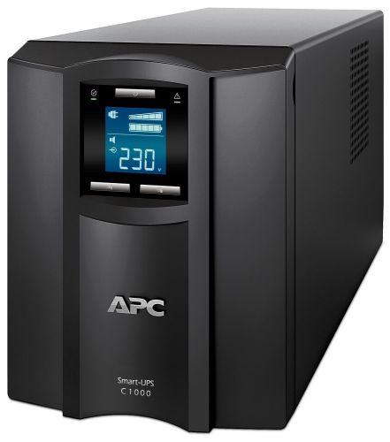 Источник бесперебойного питания APC SMC1000I Smart-UPS C 1000VA/600W, 230V, Line-Interactive, LCD